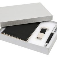 PU Passport Holder Gift Set S10095-1