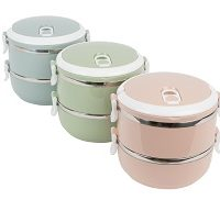2_Tier_Stainless_Steel_Lunch_Box S10049