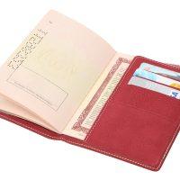 PU Passport Holder S10094-1
