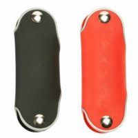 Rubberised Key Holder With Carabiner Hook S10097-1