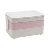 WHEAT STRAW BENTO BOX S40085-1