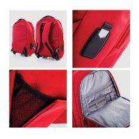 Pierre Cardin trolley laptop backpack P10001-1